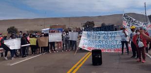 Conflicto Territorial podría estallar en violenta protesta social por limítrofe entre Arequipa e Ica
