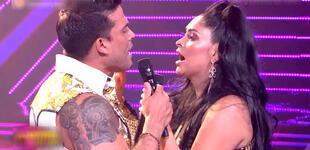 Pamela Franco sorprendió al jurado al cantar con Christian Domínguez [VIDEO]