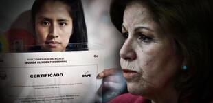 Desmienten a Lourdes Flores sobre presunta firma falsa de miembro de mesa en Cusco