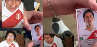 Youtuber explotó de emoción al encontrar figurita de Lapadula en álbum de Copa América [VIDEO]