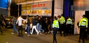 SJL: intervienen a más de 500 personas participando en fiesta COVID [VIDEO]