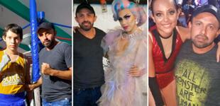 Padre de familia se vuelve viral por mostrar con orgullo a su hijos: una bailarina, un drag queen y un boxeador [FOTO]