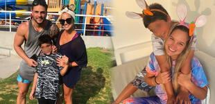 """Nicola Porcella: mamá de su hijo lo sorprende con tierno video por su día: """"Somos un equipo"""""""