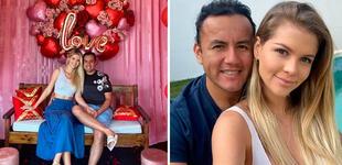 """Brunella Horna dedica romántico saludo a Richard Acuña por el Día del padre: """"Feliz día papacito"""""""