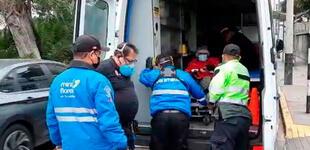 Miraflores: conductor atropella a un repartidor de delivery e intenta darse a la fuga.