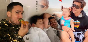 Día del Padre: chicos reality que disfrutaron de la fecha especial con su familia [FOTOS]