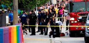 Camión arrolla a un joven cuando participada de la marcha del Orgullo gay en Estados Unidos