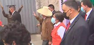 Pedro Castillo llegó hasta el distrito de Mala tras fuerte sismo de magnitud 6.0