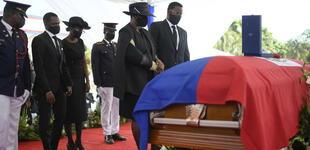 Dan último adiós a Jovenel Moise: Así fue el funeral del presidente de Haití [VIDEO]