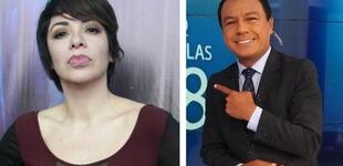 """Tatiana Astengo corrige a Jimmy Chinchay tras no llamar """"presidente"""" a Pedro Castillo [FOTO]"""