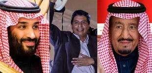 Rey y príncipe de Arabia Saudita desean éxitos al presidente electo Pedro Castillo