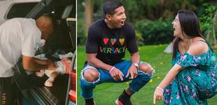 Ana Siucho captó a Edison Flores cambiándole el pañal a su bebé en la maletera del auto [VIDEO]