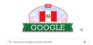 Bicentenario del Perú: Google crea hermoso doodle por los 200 años de independencia del país [FOTO]