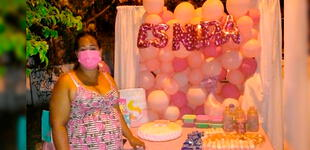 """""""Me dejaron vestida y alborotada"""": Madre organizó su baby shower, pero nadie asistió [FOTOS]"""