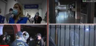 EsSalud: allanan casa de Fiorella Molinelli y oficinas del seguro social