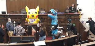 Aparece 'Pikachu' en pleno Congreso chileno mientras se debatía nueva reforma constitucional [VIDEO]