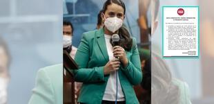 Verónika Mendoza respaldó al Gabinete Bellido, según Nuevo Perú [FOTO]