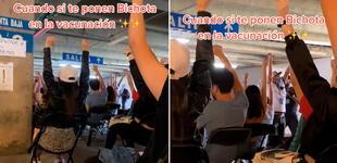 Jóvenes en México se vacunan a ritmo de 'Bichota' y divertido video se hace viral en TikTok