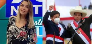 """Juliana Oxenford arremete contra Guido Bellido: """"Entramos nosotros, y sale rápido"""" [FOTO]"""
