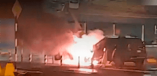Camioneta se incendió en los estacionamientos del Aeropuerto Jorge Chávez