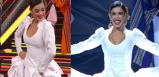 """Korina Rivadeneira impacta con baile de marinera en Reinas del Show: """"El Perú es magia"""" [VIDEO]"""