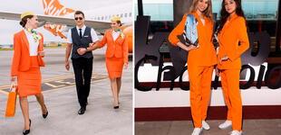 """Aerolínea cambia uniformes de aeromozas por pantalón y zapatillas: """"Es una visión revolucionaria"""""""