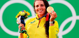 Atleta australiana usa preservativo para reparar su kayak y termina ganando los JJ.OO. Tokio 2020