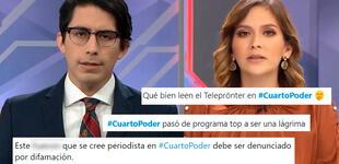Critican a Cuarto Poder por fuertes calificativos a ministros de Pedro Castillo durante programa
