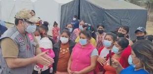 Mindef llevó ayuda a damnificados del sismo de 6.1 en Piura [VIDEO]