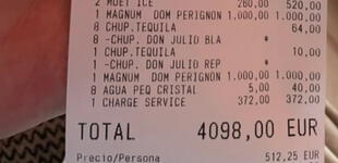 Piden hamburguesas y bebidas en establecimiento, pero cuando reciben la cuenta tenían que pagar 4.000 euros