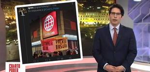 """Usuarios tildan de """"prensa basura"""" a Cuarto Poder por emitir vídeo con Vladimir Cerrón [VIDEO]"""