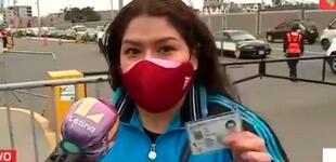 Mujer rechaza ser vacunada con Sinopharm, pese a su alta efectividad contra la COVID-19 [VIDEO]