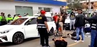 PNP frustra asaltó a agencia bancaria de Pro en Los Olivos [VIDEO]