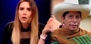 Juliana Oxenford explota contra quienes la culpan del triunfo de Pedro Castillo