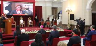 Presidenta del Poder Judicial dirigió la ceremonia por el día del juez y jueza