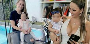 Melissa Klug no repara en gastos y regaló un costoso bolso a la bebé de Samahara Lobatón [VIDEO]