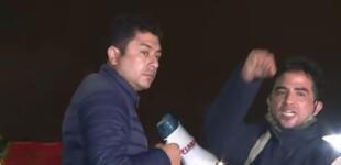 """Guillermo Bermejo llama """"sinvergüenzas"""" a manifestantes en contra de Pedro Castillo"""