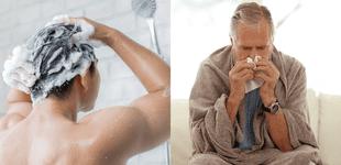 COVID-19: ¿Puedo bañarme con agua caliente cuando estoy infectado?