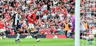 Cristiano impresiona al alcanzar los 32 km en su debut en Manchester