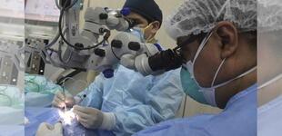 EsSalud informó que en 2 meses cerca de 200 pacientes fueron operados de cataratas [FOTO]