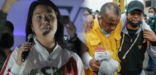 Keiko Fujimori relaciona al gobierno con Sendero, pero le recuerdan el terror de La Resistencia