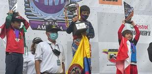 Minicross: peruano Chia sube al podio en la Copa Latina de Colombia