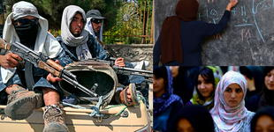 """Talibanes prohíben que afganas vayan a la escuela secundaria: """"No quieren que las mujeres se eduquen"""""""
