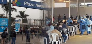 COVID-19: Vacunatorio de Plaza Norte cerrará del 20 al 22 de setiembre