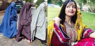 """Mujeres afganas protestan por la vestimenta impuesta por los talibanes: """"No es parte de nuestra cultura"""""""