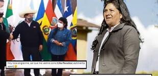 Lilia Paredes: usuarios reaccionan a la vestimenta de jean que lució la primera dama en México