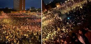 Miles de jóvenes retan al COVID-19 y se reúnen a beber en licor para celebrar el inicio de clases [VIDEO]