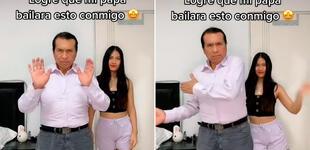 Papá se une a reto de baile junto a su hija y se roba el show con sus 'pasos prohibidos' [VIDEO]