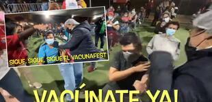 VacunaFest: enfermera saca los pasos prohibidos en Campo de Marte y baile es viral [VIDEO]