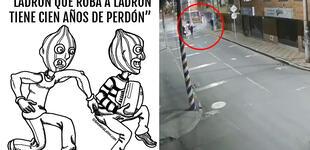 Ladrones son asaltados y usuarios recuerdan conocido dicho popular [VIDEO]